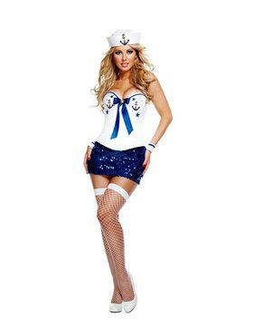 Signature Sailor Deluxe Sexy Costume
