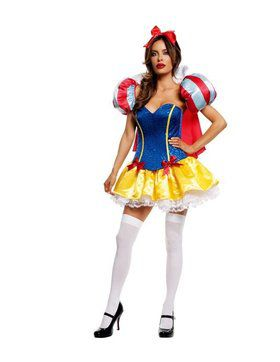 Signature Snow White Deluxe Sexy Costume