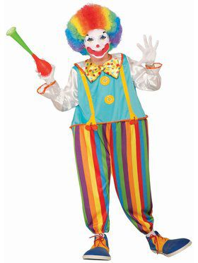 Silly Circus Clown Costume