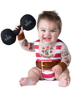 Silly Strongman Costume Toddler
