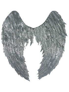 Angel Wings in Silver