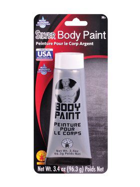 Body Paint Silver