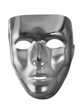 Full Face Mask - Silver