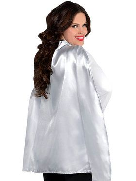 Silver Superhero Cape