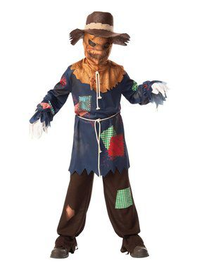 Sinister Scarecrow Costume for Kids