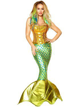 Siren of the Sea Mermaid Deluxe Costume