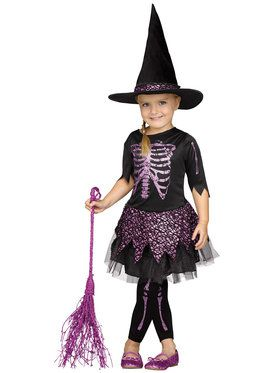 Skele-Witch Toddler Costume