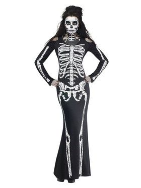 Adult SKELELICIOUS Costume For Adults