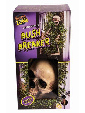 Skeleton Bush Breaker Decoration