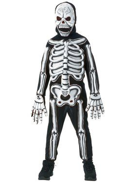 skeleton child costume - Skeleton Halloween Costume For Kids