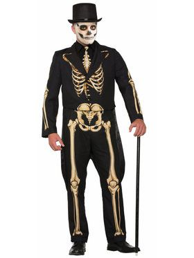 Skeleton Formal Costume - Adult