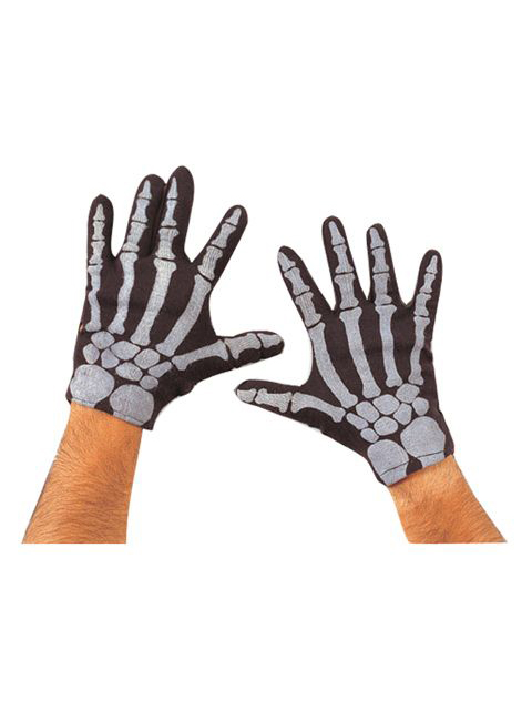 Rubie's Skeleton Hand Gloves