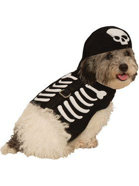Skeleton Harness Costume for pets