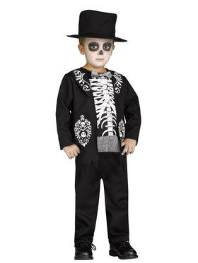 Skeleton King Costume Toddler