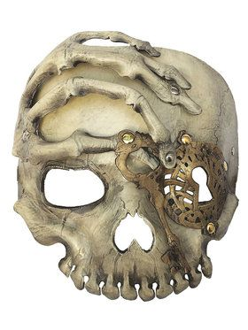 Skeleton Steampunk Mask For Adults