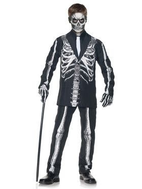 Skeleton Suit Child Costume for Halloween