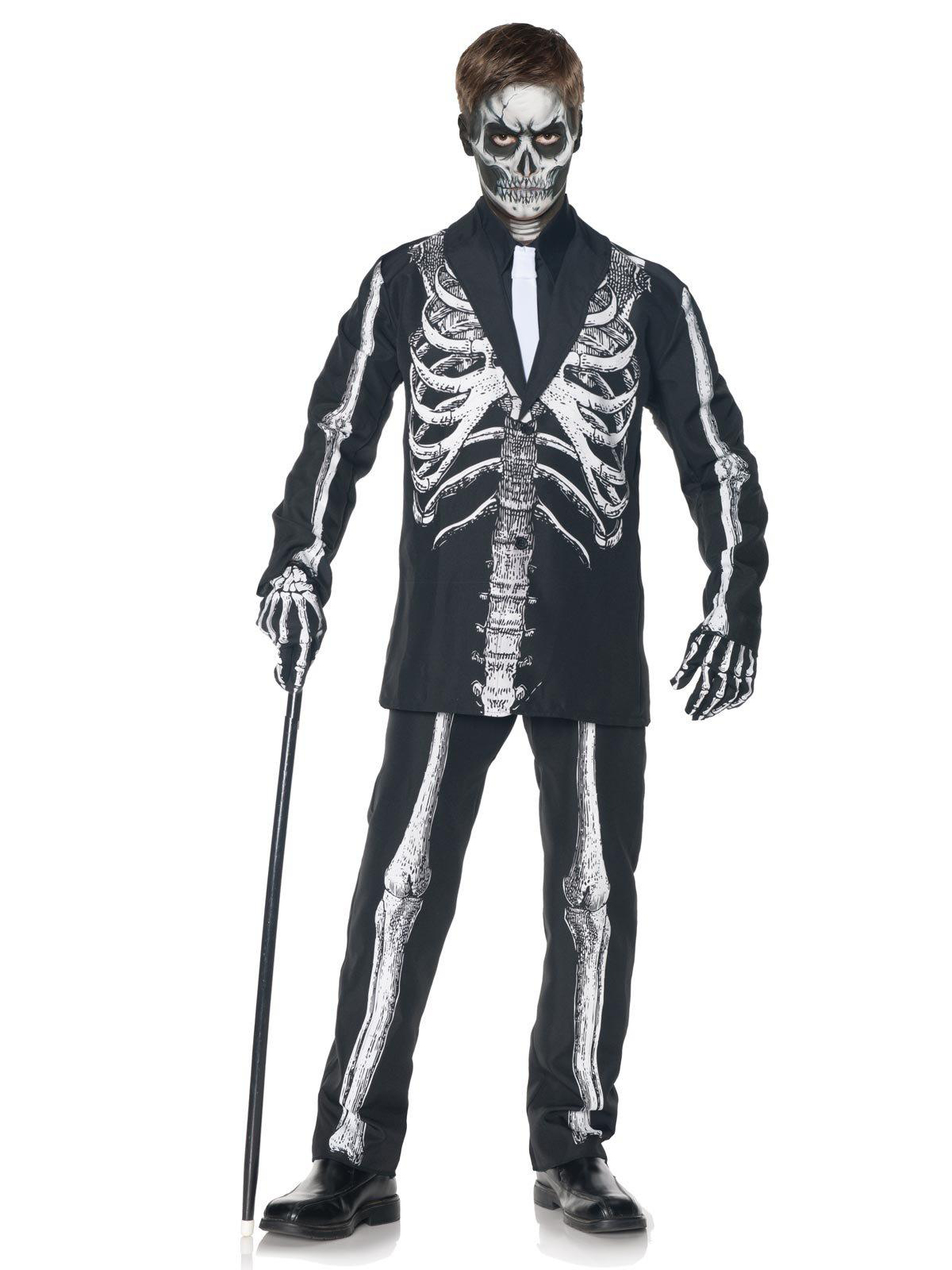 Underwraps Skeleton Suit Child Costume