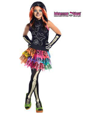Skelita Calaveras Monster High Girls Costume
