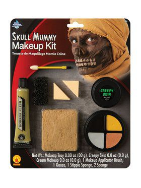 Skull Mummy Makeup Kit