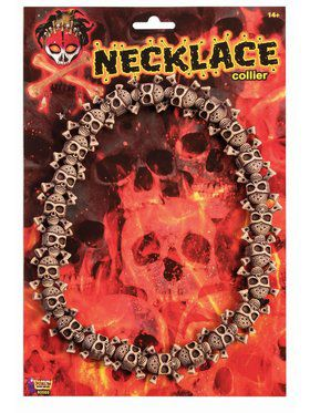 Skull Necklace Accessory