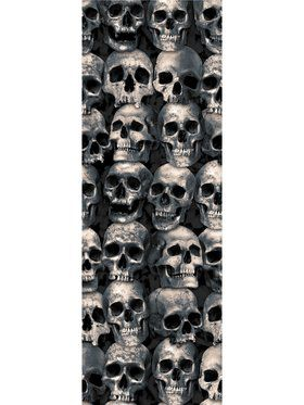 Skull Backdrop Wall Dcor