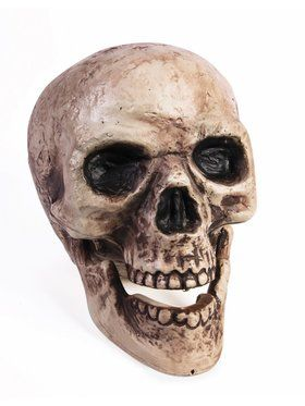 Skull with Moving Jaw Facemask for Adults