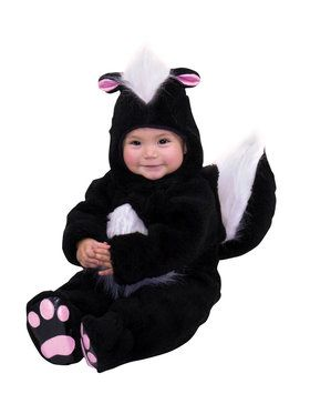 Skunk Toddler Costume