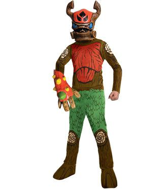 Skylander's Tree Rex Boy's Costume