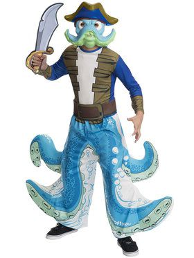 Skylander's Wash Buckler Boy's Costume