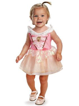 Sleeping Beauty Aurora Costume For Babies