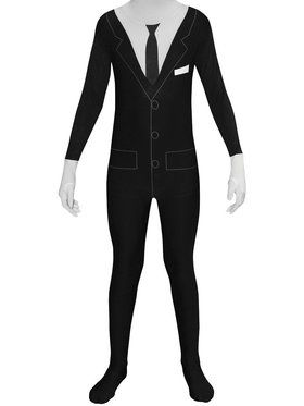 Slenderman Morphsuit Boys Costume