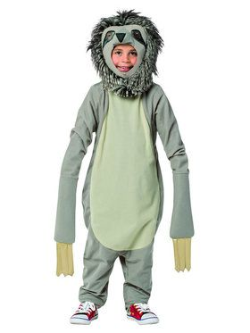 Sloth Child Unisex Costume