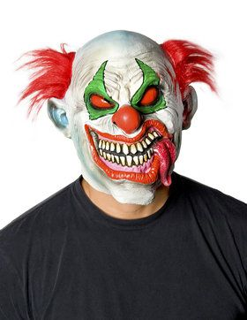 Adult Slurpee Clown Mask
