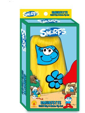 Smurfette Wig and Makeup Set Chld