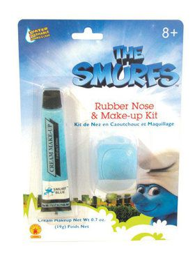 Smurfs Makeup and Nose Kit