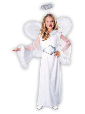 Snow Angel Child Costume