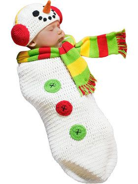 Snow Baby Bunting Costume Toddler