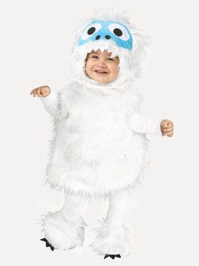Snow Beastie Costume For Toddlers