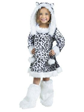 Snow Leopard Costume For Toddlers