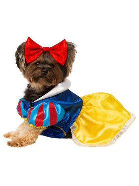Snow White Costume For Pets
