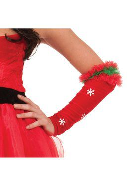 Snowflakes Arm Warmers Accessories