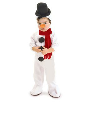 Holiday Snowman Costume
