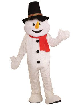 Snowman Plush Economical Mascot Adult Co