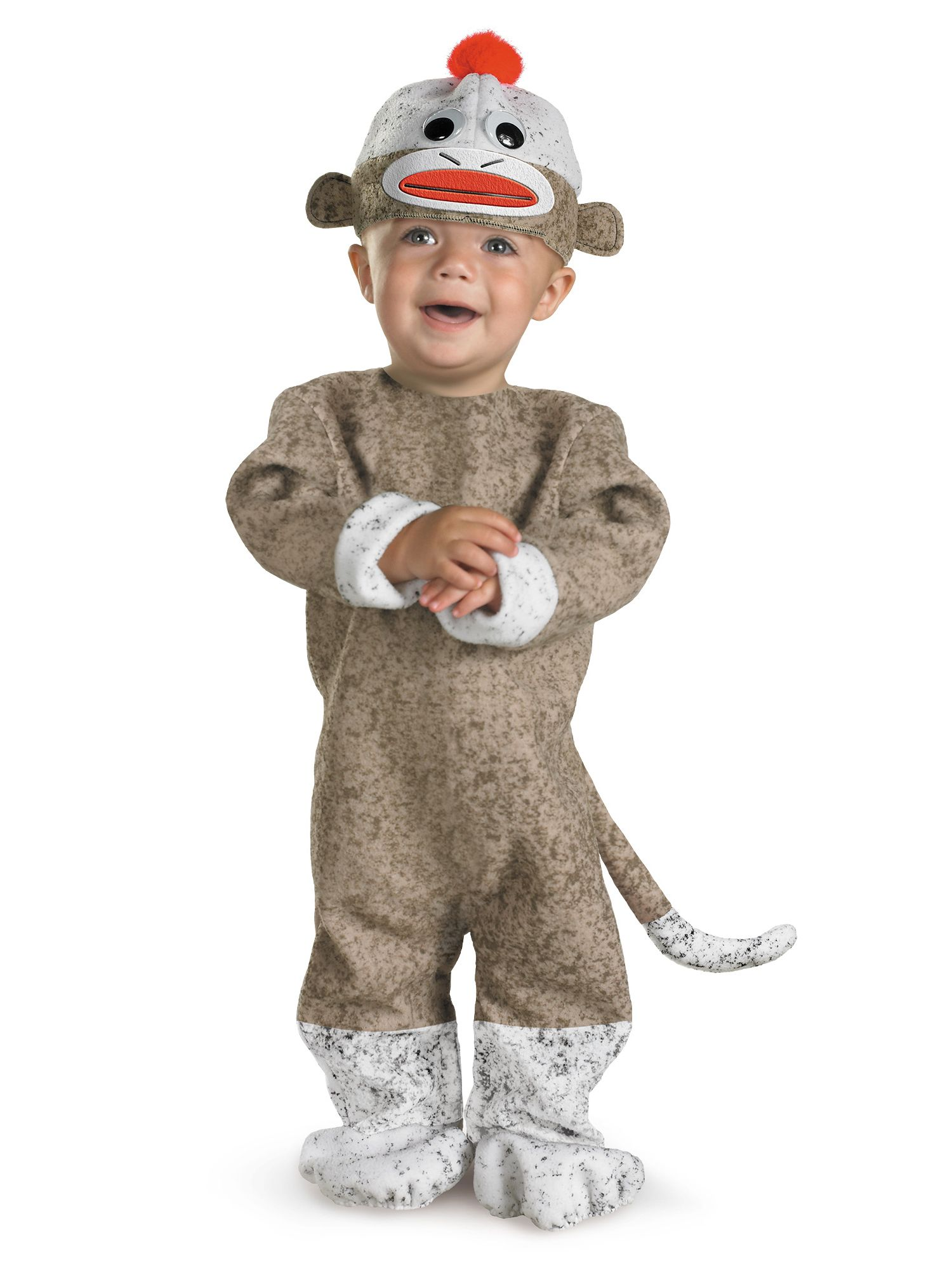 Sexy sock monkey costume