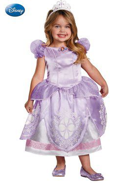 Sofia the First Deluxe Girl's Costume