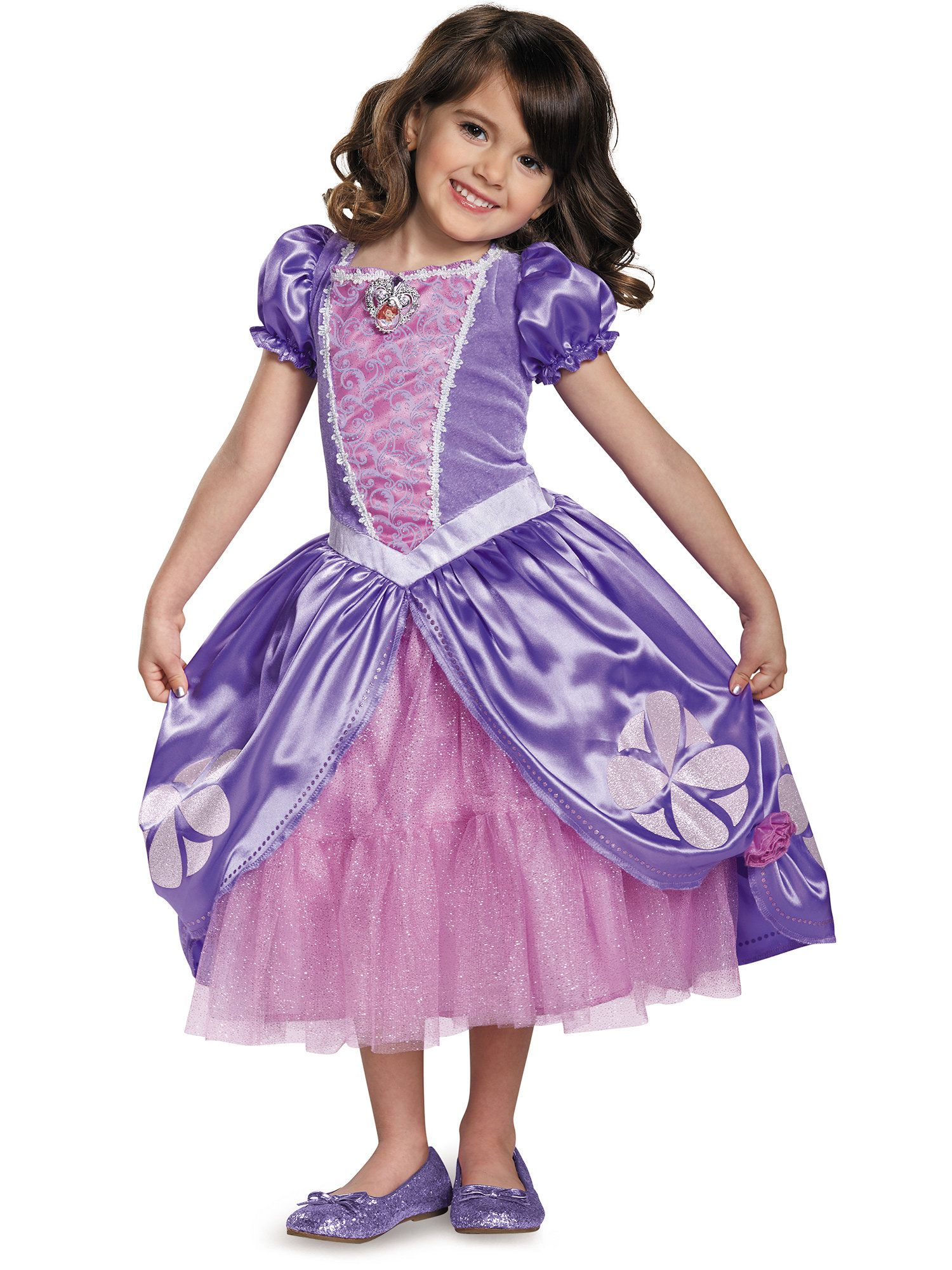 Delightful Sofia The First Sofia The Next Chapter Deluxe Costume Toddler