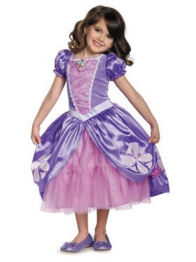 Sofia the First Sofia The Next Chapter Deluxe Costume For Toddlers