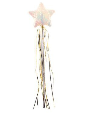 Soft Fabric Iridescent Star Wand
