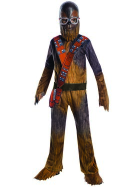 Solo A Star Wars Story Boys Deluxe Chewbacca Costume