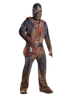 Solo A Star Wars Story Mens Deluxe Chewbacca Costume